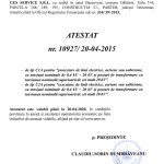 Atestat ANRE C1A+C2A