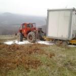 Instalare grup electrogen in shelter site montan telecom