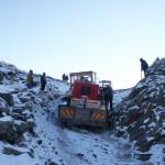 Transport echipamente pe munte