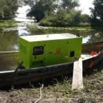 Transport si instalare grup electrogen Delta Dunarii