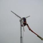Instalare turbina eoliana