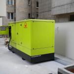 Instalare grup electrogen outdoor