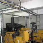 Instalare grup electrogen indoor