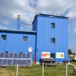 Panouri fotovoltaice statie meteo montana