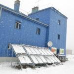 Panouri fotovoltaice statia meteo Lacauti